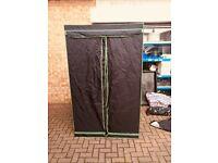 Cheshunt Hydroponics Store - Used BudBox 1.2 x 1.2 x 2m grow tent