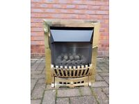 Gas fire no flue needed