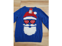 Santa Jumper by Next - Age 7 Years - Brand New