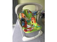 Fisher Price vibrating rocker swing baby chair -clean, plays music , different modes collect Benhall