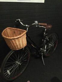 Vintage style women's bike