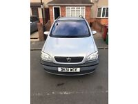 Vauxhall Zafira 1.6 7 seater Excellent condition £550ono