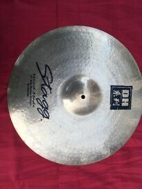 Wokingham Drum Sales - Stagg DH 20 inch Medium Brilliant Ride Cymbal