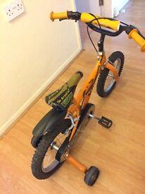 """14"""" Dinosaur bike for boys"""