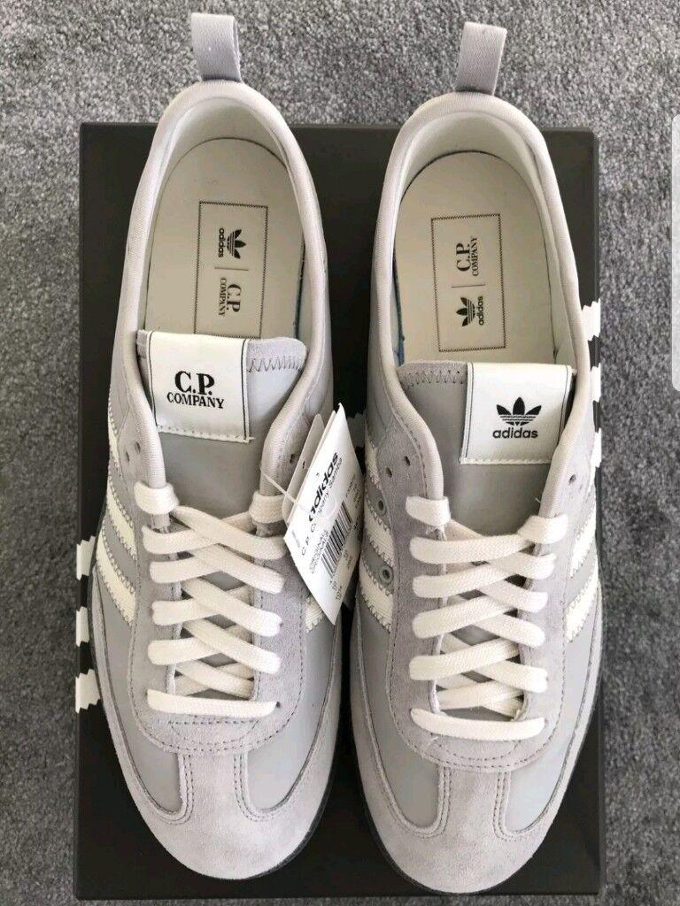 buy online fe34a b0b0b Adidas x C.P. Company Samba - grey - UK size 10