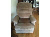 Sherborne Keswick, dual motor, lift and rise recliner. Excellent condition.