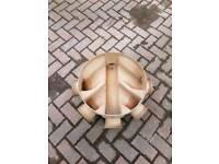 draiage bottoms rings lids.