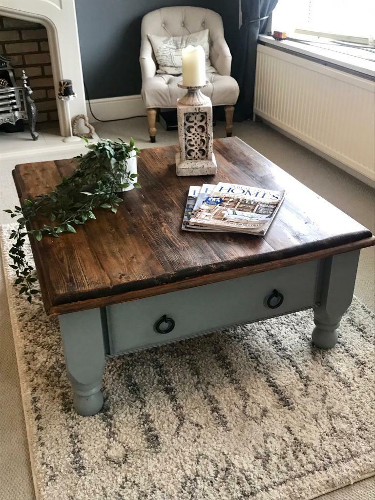 - Large Rustic Coffee Table In Haxby, North Yorkshire Gumtree