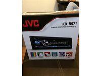JVC variable colour LED car stereo