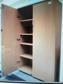 storage cupboard or cabinet