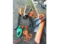 Electric garden vac blower