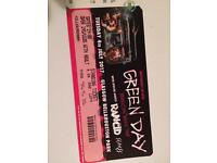 Green Day ticket