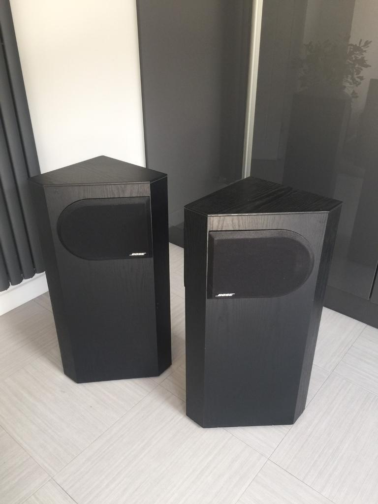 Pair Of Bose 401 Clic Floor Standing Speakers