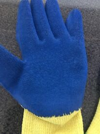 Heavy duty grip gloves - job lots -work wear - bankrupt stock
