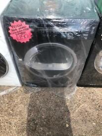 Bosch 8kg ld black condenser dryer