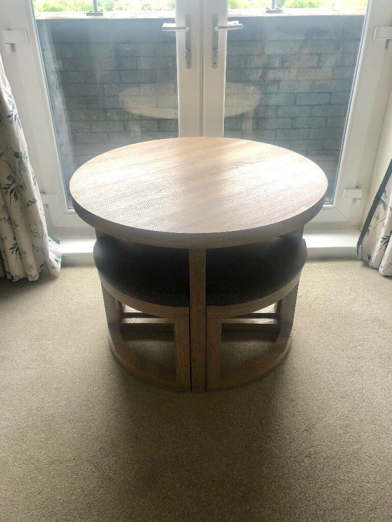 Fine Stowaway Dining Set Table And 4 Chairs In Renfrew Renfrewshire Gumtree Home Interior And Landscaping Ologienasavecom