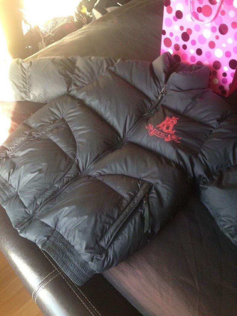 Black Ralph unisex coat size medium in brill condition