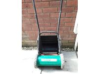 Qualcast push lawnmower