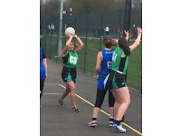 ADULT NETBALL PLAYERS OF ALL AGES WANTED FOR SATURDAY MATCHES. BEGINNERS WELCOME