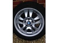 BMW wheels with very good tyres from '57 reg. E90 320D