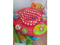 Baby activity play seat