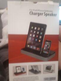 Charger speaker