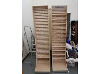 3 Shop/Retail display units