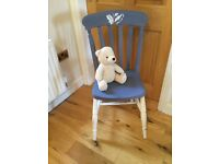 Up Cycled Oak Chair Lovely Item