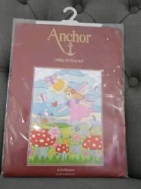 Cross stitch and Long stitch kits