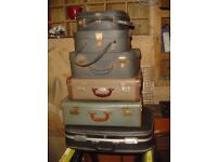Various Sizes - Suitcases & Vanity Cases
