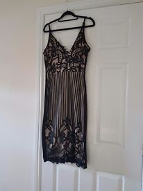 Ladies black/nude dress. Brand new with tags (size 14)