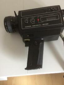 Chinon Super 8 cine camera. Untested.Spares or repair.