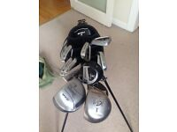 Set of Golf Clubs in Good Condition