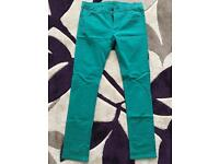 Brand New Diesel Green Skinny Fit Chinos (32l)