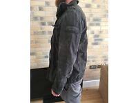 Men's Abercrombie & fitch army jacket size medium