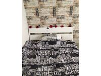 King size bed In very good condition