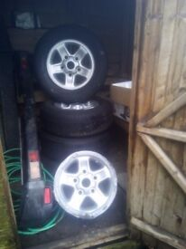 Landrover boost alloys set of 5