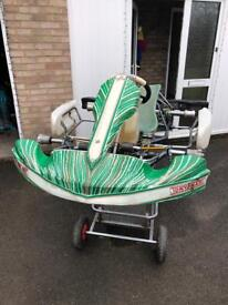 2013 Tony Kart Rolling Chassis