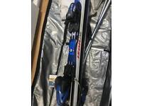 Atomic Izor 7.5 skis, poles and bindings
