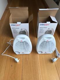 Fan Heaters (2kW(