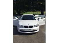 2011/11 BMW 1 SERIES 2.0 116D ES 5DR WHITE £4750!!!!