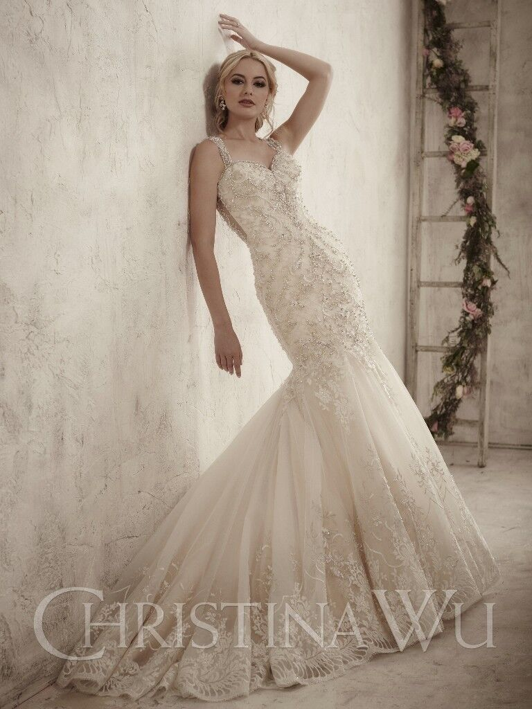 Christina Wu House Of Wedding Dress 15599 Un Worn And Unaltered