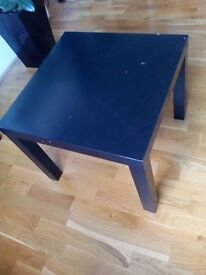 Black coffe table ikea - collection only