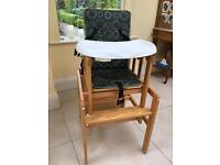 High chair / chair and table