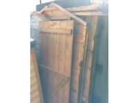 Free scrap wood from a torn down shed - pick up only