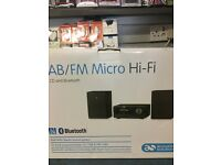6 MONTH GUARANTEE - ACOUSTIC SOLUTIONS DAM/FM BLUETOOTH MICRO HI-FI
