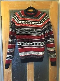 H&m Christmas jumper size XS