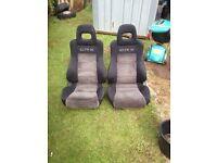 Honda CRX Seats