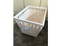 IKEA KNARRA Style White Basket Brand New with tags