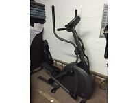 Great quality cross trainer with variable training programmes